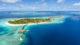 Hurawalhi Maldives. The 5.8 underwater restaurant