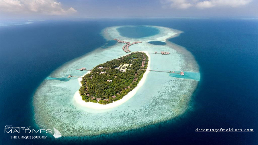 Vakkaru Maldives Resort Aerial Photo