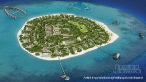 Velaa Private Island Maldives - Aerial