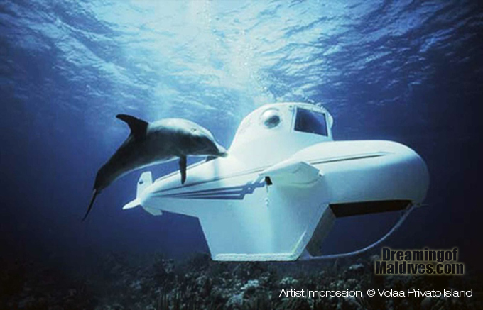 Velaa Private Island Semi-Submarine