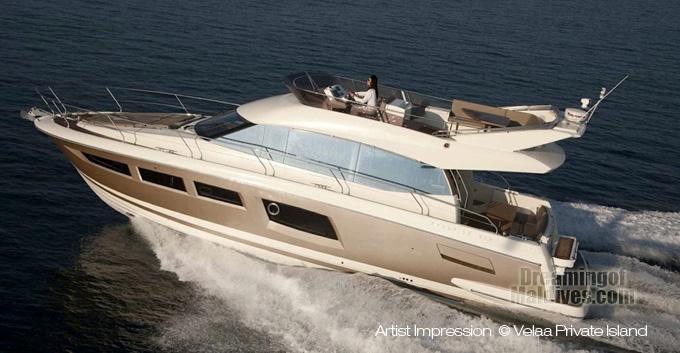 Velaa Private Island Super Luxury Yacht