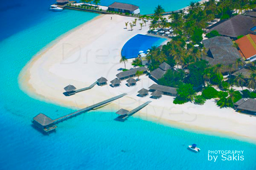 Velassaru maldives photo aerial