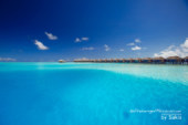 Photo of The Day : Water Villas in the Blue at Velassaru Maldives