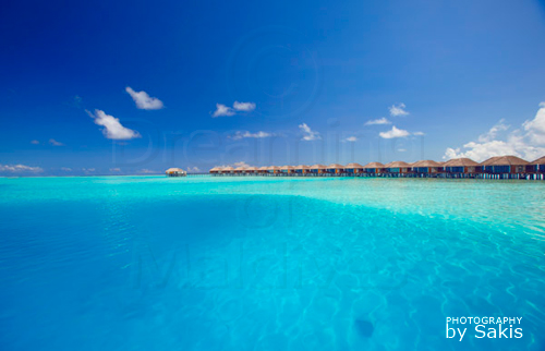 Velassaru Water Villas and the big blue lagoon