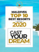VOTE For The Best Maldives Resorts 2020 – Official TOP 10 Ranking