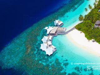 W Maldives Complete Photo Gallery aerial photo