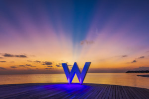 2015 Earth Hour celebrated at W Maldives and Sheraton Maldives !