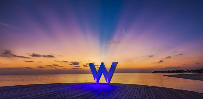 Earth Hour 2015 at W Maldives