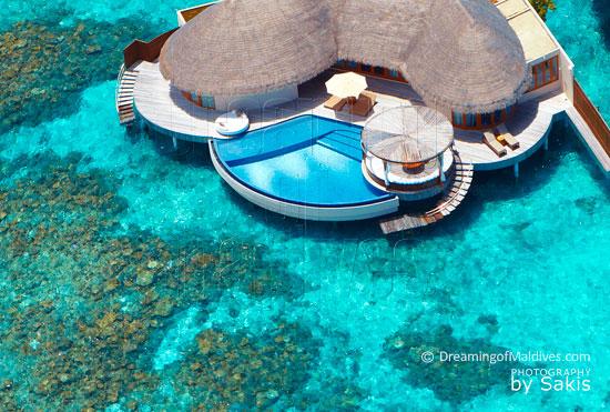 W Retreat and Spa Maldives Ocean Haven Aerial View | Photo © Sakis Papadopoulos