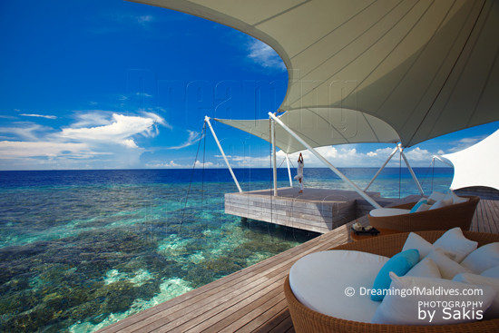 W Retreat & Spa Maldives - AWAY Spa relaxing and Yoga Area