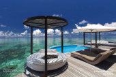 Maldives Photo of the Day : Amazing Water Villa View at W Maldives
