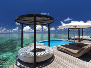 Water Villa with Pool at W Maldives