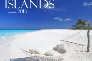 2013 Maldives Wall Calendar featuring 13 beautiful Maldives Photographs