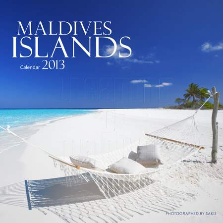 Wall Calendar 2013 Islands Maldives