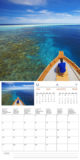 Inside preview. May. wall calendar 2013 of the maldives islands