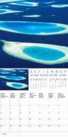 2018 Wall calendar Islands Maldives Tropical Islands Wall Calendar