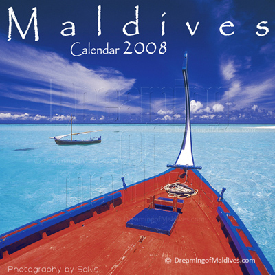 Islands Wall Calendar Maldives. Dreaming of Maldives Edition 2008