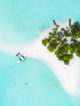 Maldives Island Aerial Photo Free Wallpaper