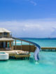 soneva fushi water retreat with Water slide