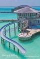 maldives water villa with water slide at soneva jani