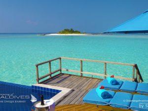 Sunset Water Villa with Pool at Anantara Dhigu Maldives