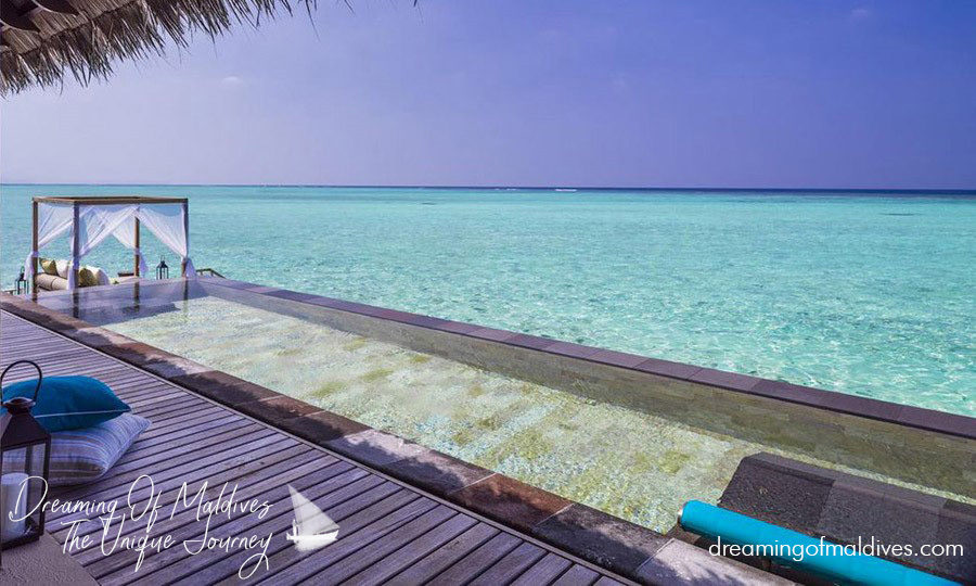 Water Villa with Pool at One & Only Reethi Rah.