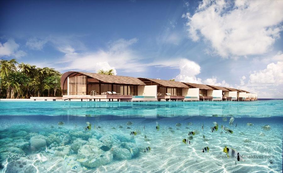 Westin Maldives Miriandhoo Resort Opening Date : October 2018