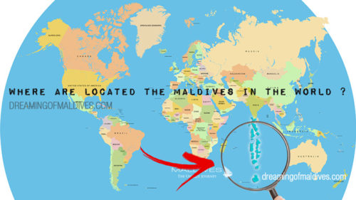Maldives On A World Map.Maldives Map Of Resorts Atolls Airports And Important Islands