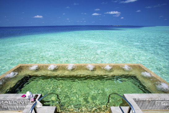 Maldives Photo Of The Day : XXL Jacuzzi With a Dreamy View