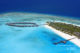 Zitahli Kuda-Funafaru Aerial Photo. The lagoon, the Reef, the island and the Villas