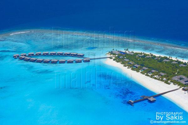 Zitahli kuda funafaru maldives aerial view photo gallery