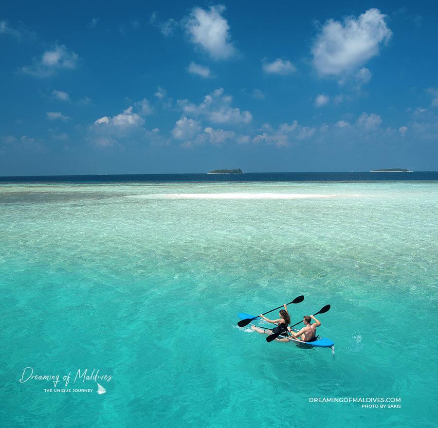 Activités aux Maldives Canoë