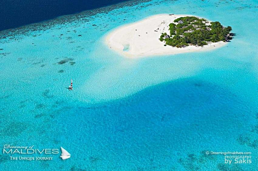 Maldives Islands - Tiny Island
