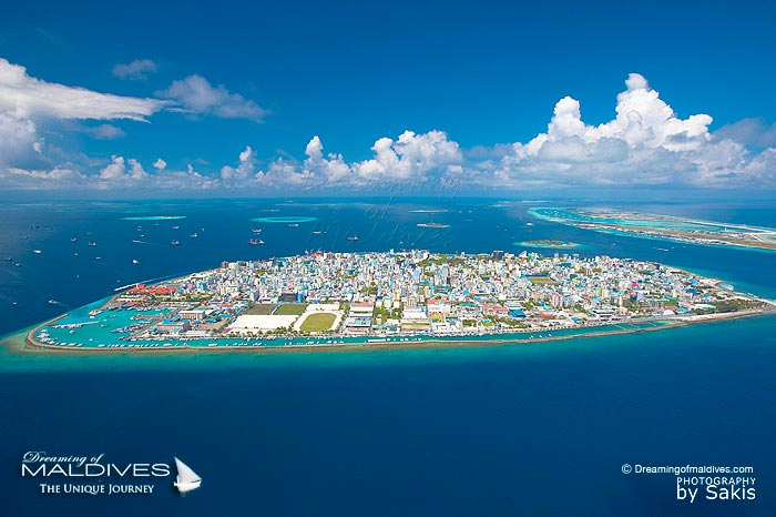 Maldives, Male Island, The Smallest Capital in the World