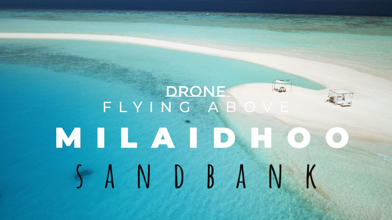 Aerial Drone Video at Milaidhoo Maldives