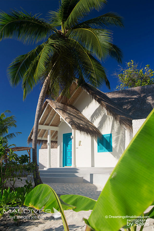 Milaidhoo Beach Pool Villa Entrance