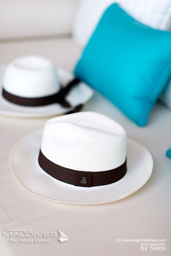 Milaidhoo Original Panama Hats offered to Residence Guests