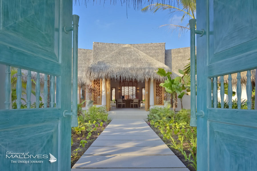 Milaidhoo Spa Entrance