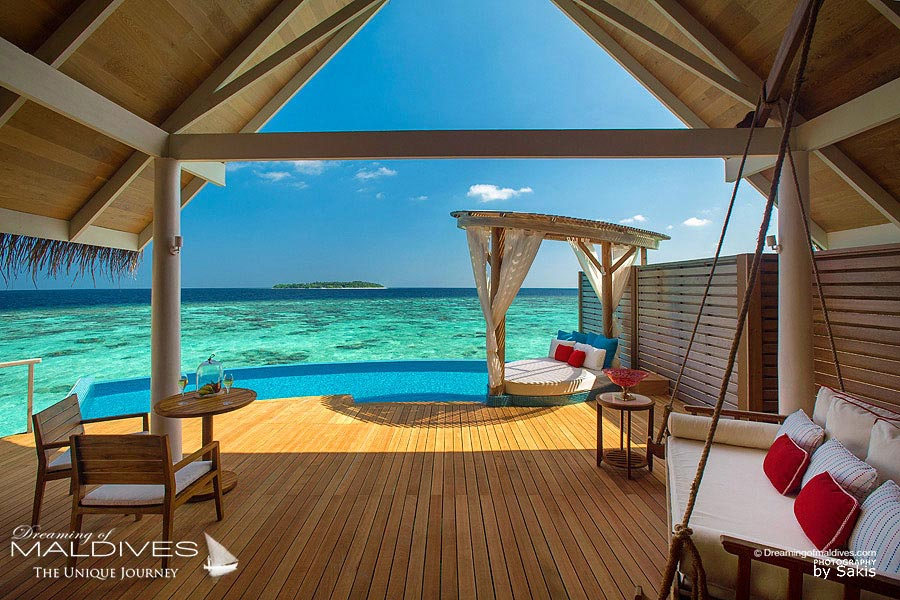 Milaidhoo Beach Pool Villa Deck