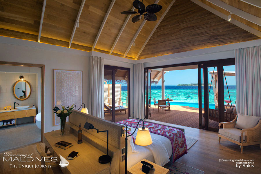 Milaidhoo Ocean Pool Villa Bedroom