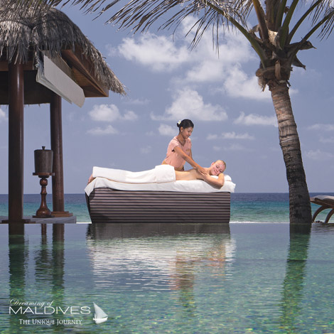 Naladhu Maldives best Moment and Place A massage on your House deck