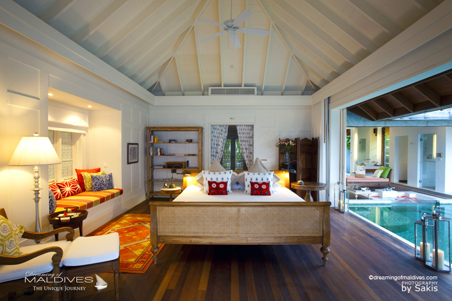Naladhu Maldives - Beach House With Pool. The Bedroom