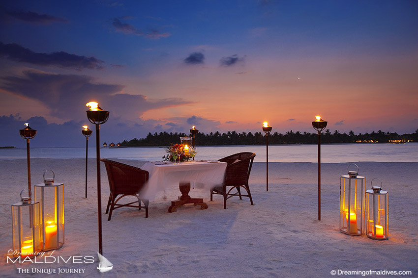 Naladhu Maldives - Intimate Dining Affair