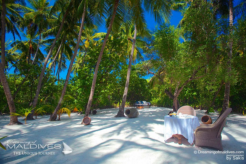 Naladhu Maldives - Private Lunch in the Coconut Grove