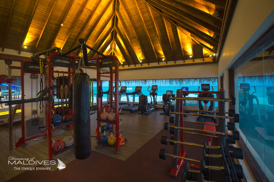 OZEN at Maadhoo Maldives Fitness Room