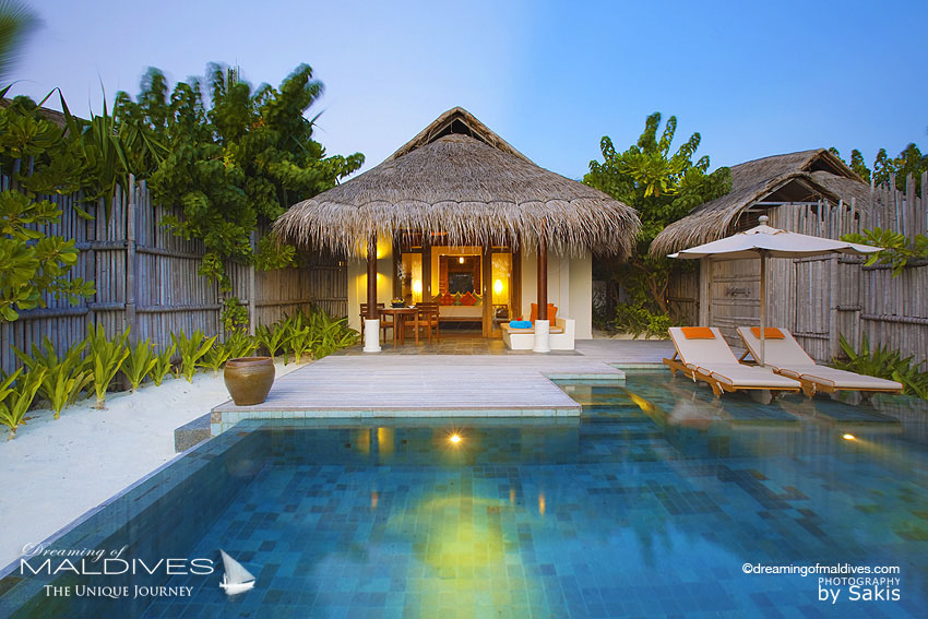 Anantara Dhigu Maldives Sunset Beach Villa & Pool