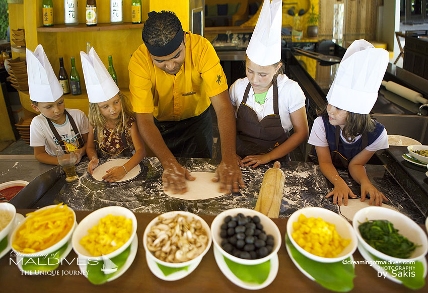 Anantara Dhigu Maldives Kids Club Activities