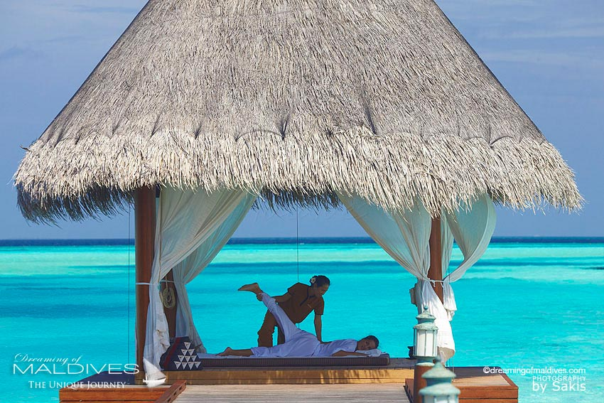 Anantara Dhigu Maldives Thai Massage Overwater