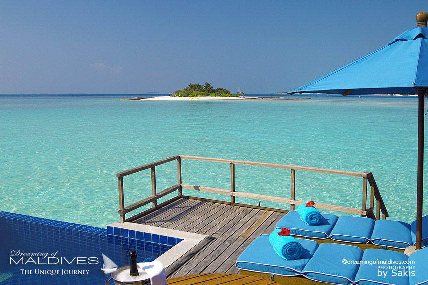 Anantara Dhigu Maldives Water Villa Dreamy View