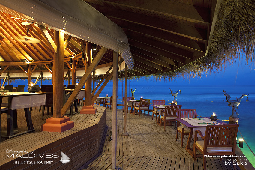 Anantara Dhigu Maldives Restaurants